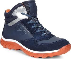 Niebieskie buty dziecięce zimowe ecco