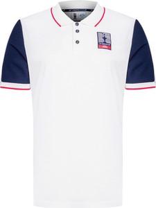 T-shirt North Sails z krótkim rękawem w sportowym stylu