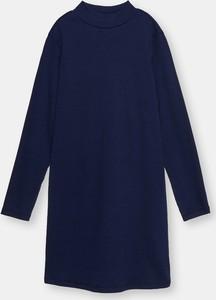 Granatowa sukienka dziewczęca Sinsay