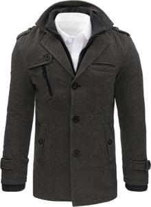 Płaszcz męski Dstreet w stylu casual