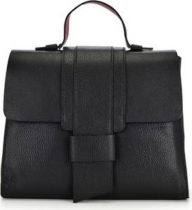 Czarna torba podróżna Vera Pelle