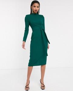 Zielona sukienka Asos midi