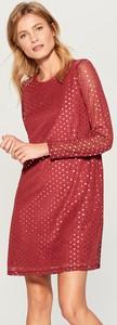 Sukienka Mohito z długim rękawem z okrągłym dekoltem