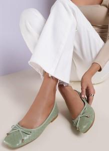 Baleriny Renee z płaską podeszwą w stylu casual