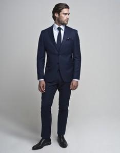 Niebieski garnitur Borgio