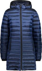 Granatowy płaszcz CMP