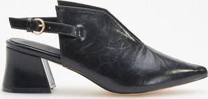 Czarne botki Reserved w stylu boho