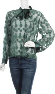 Zielona bluzka Olla Oh z długim rękawem