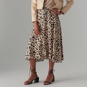 Brązowa spódnica Mohito w stylu casual midi