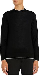 Czarny sweter Emporio Armani w stylu casual