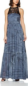 Niebieska sukienka amazon.de maxi