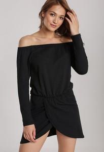 Czarna sukienka Renee mini w stylu casual