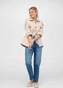 Kurtka ORSAY krótka w stylu casual z tkaniny