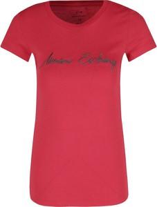 T-shirt Armani Jeans z okrągłym dekoltem