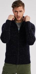 Czarny sweter Diverse z wełny