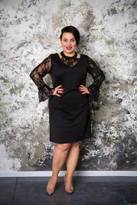 744f0476853b eleganckie sukienki wizytowe dla puszystych - stylowo i modnie z Allani