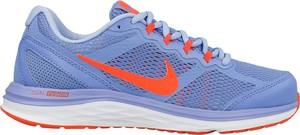 Buty sportowe Nike w sportowym stylu sznurowane dual fusion