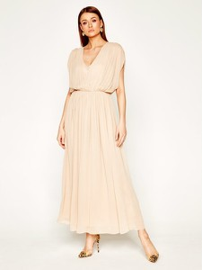 Sukienka Liu-Jo z dekoltem w kształcie litery v