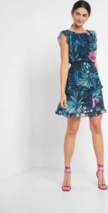 Sukienka ORSAY mini z tkaniny z krótkim rękawem