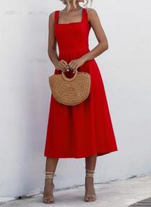 Sukienka Sandbella w stylu boho midi