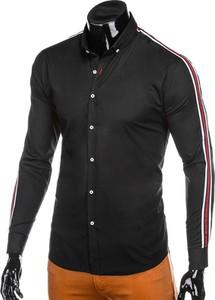 Czarna koszula Edoti