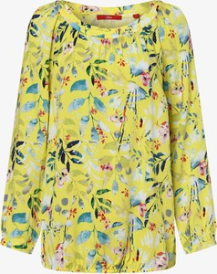 Żółta bluzka S.Oliver w stylu boho