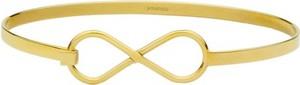 Manoki BA615G złota bransoletka, symbol nieskończoności