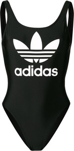 Czarny strój kąpielowy Adidas Originals