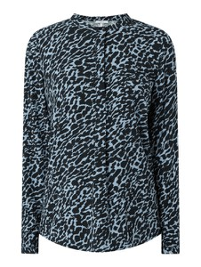 Bluzka Jake*s Casual w stylu casual z okrągłym dekoltem z długim rękawem