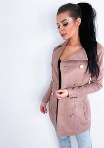 Różowy płaszcz Yasmin Boutique