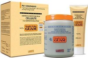 Guam - Lacote Zestaw Guam klasyczny - Błotny koncentrat i żel wyszczuplający i antycellulitowy 1kg + 250ml