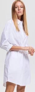 Sukienka Reserved w stylu casual z długim rękawem mini