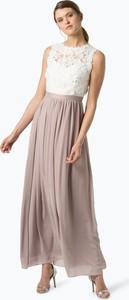 Sukienka Marie Lund z okrągłym dekoltem maxi
