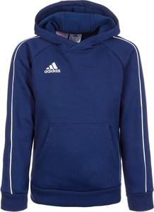 Niebieska bluza dziecięca Adidas Performance z bawełny