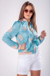 Bluza Ptakmoda.com krótka w stylu casual