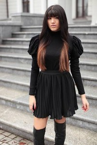 99b2096d spódnica plisowana mini - stylowo i modnie z Allani