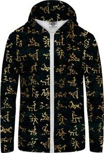 Bluza Mr Gugu & Miss Go z nadrukiem w młodzieżowym stylu