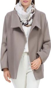 Brązowy płaszcz Wittchen w stylu casual