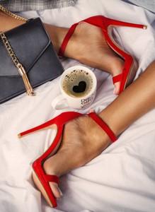 Sandały deezee na szpilce