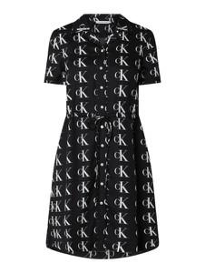 Sukienka Calvin Klein koszulowa w stylu casual