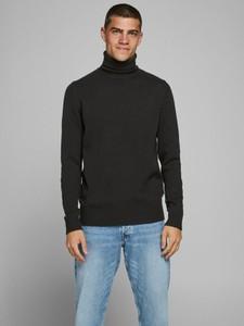 Czarny sweter WARESHOP w stylu casual