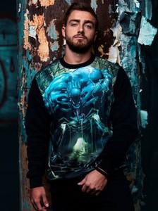 Bluza Marvel z bawełny