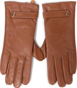 Pomarańczowe rękawiczki Liu-Jo