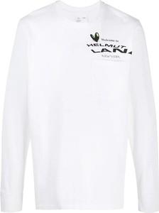 T-shirt Helmut Lang z długim rękawem