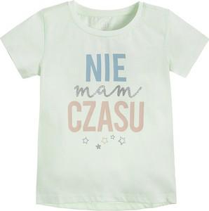 Koszulka dziecięca Cool Club z krótkim rękawem dla dziewczynek z bawełny