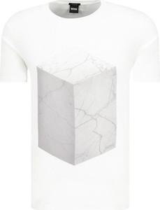 T-shirt BOSS Casual z krótkim rękawem