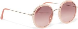 Różowe okulary damskie Acccessories