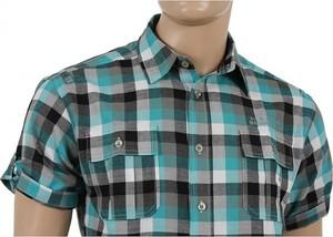 Koszula Clover z krótkim rękawem z bawełny