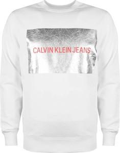 Bluza Calvin Klein w młodzieżowym stylu z bawełny