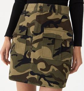 Spódnica House w militarnym stylu mini